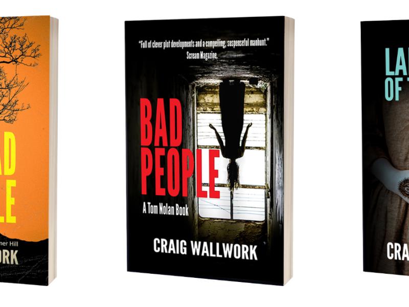Craig Wallwork book covers