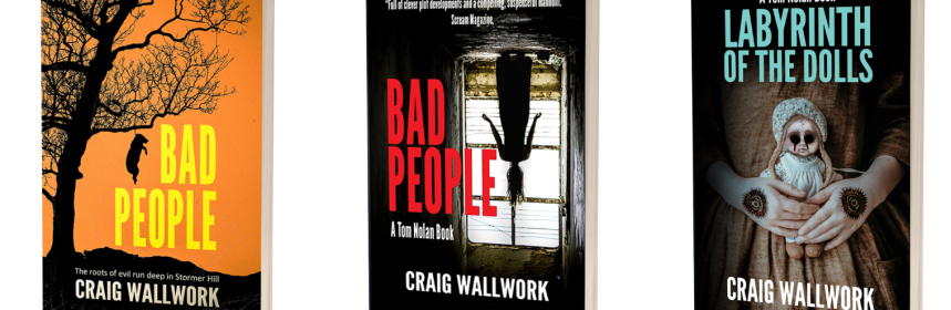 Craig Wallwork book covers