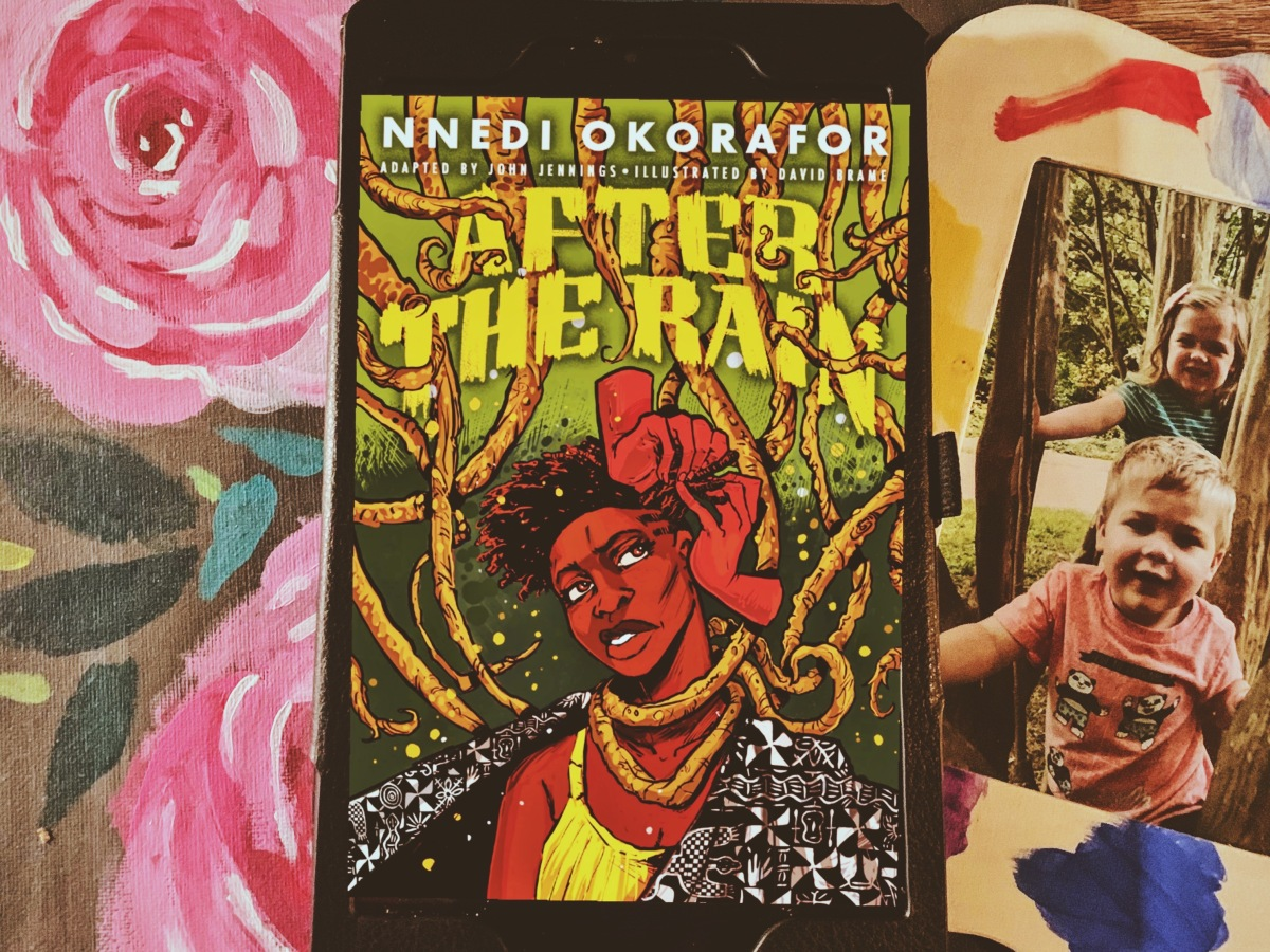 After the Rain graphic novel