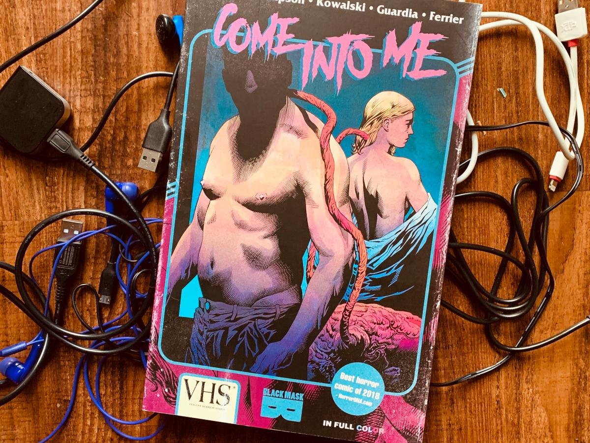 Come Into Me graphic novel