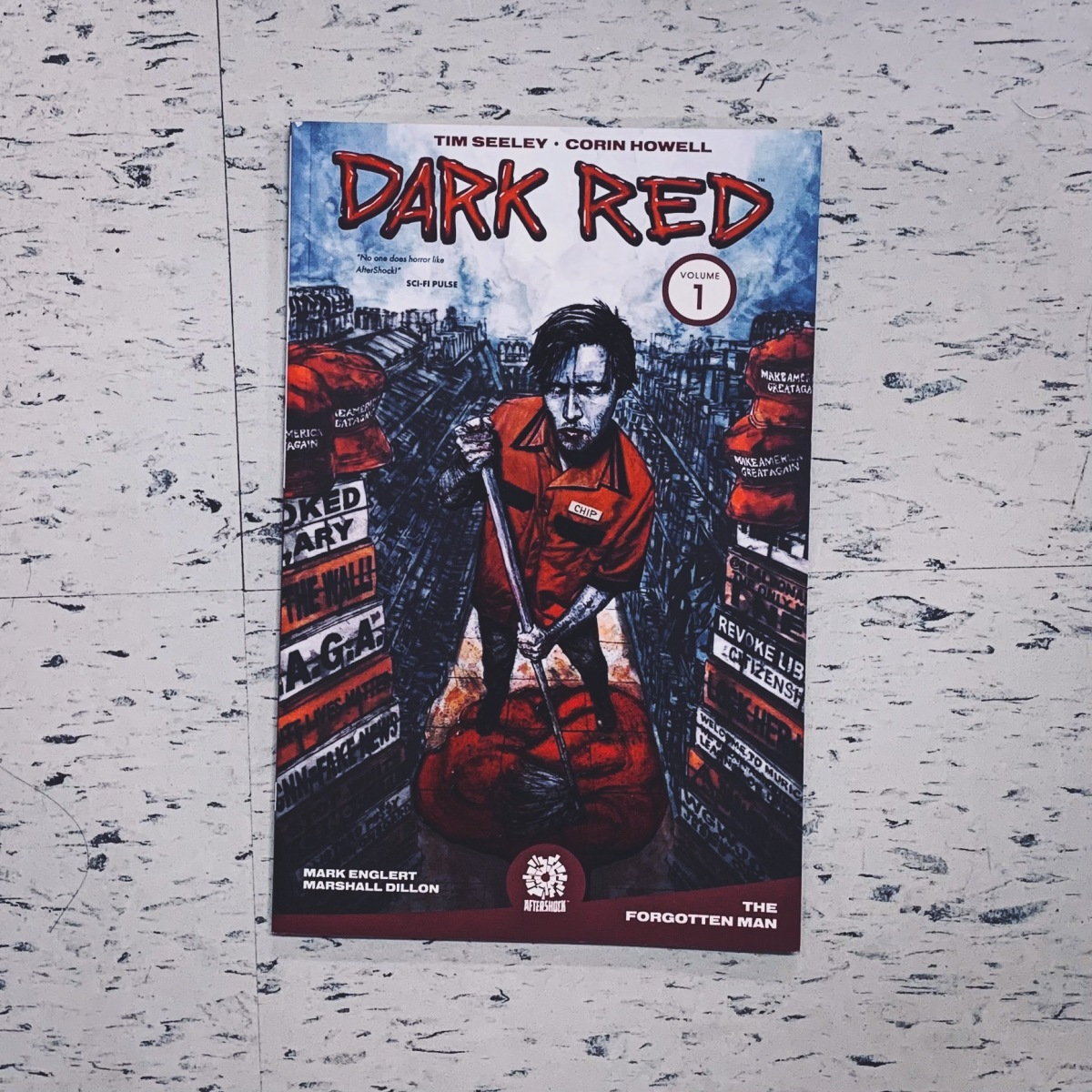 Dark Red comic review