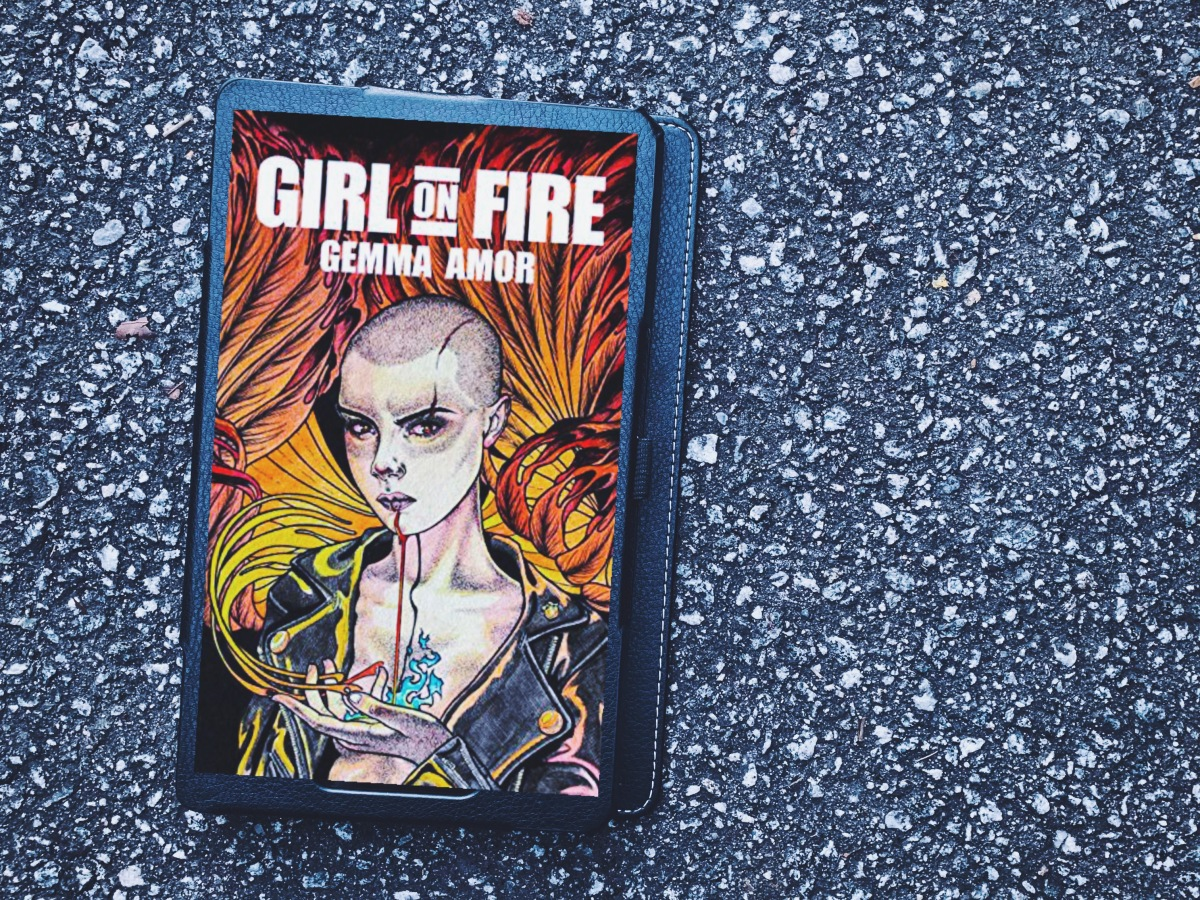 Girl on Fire book