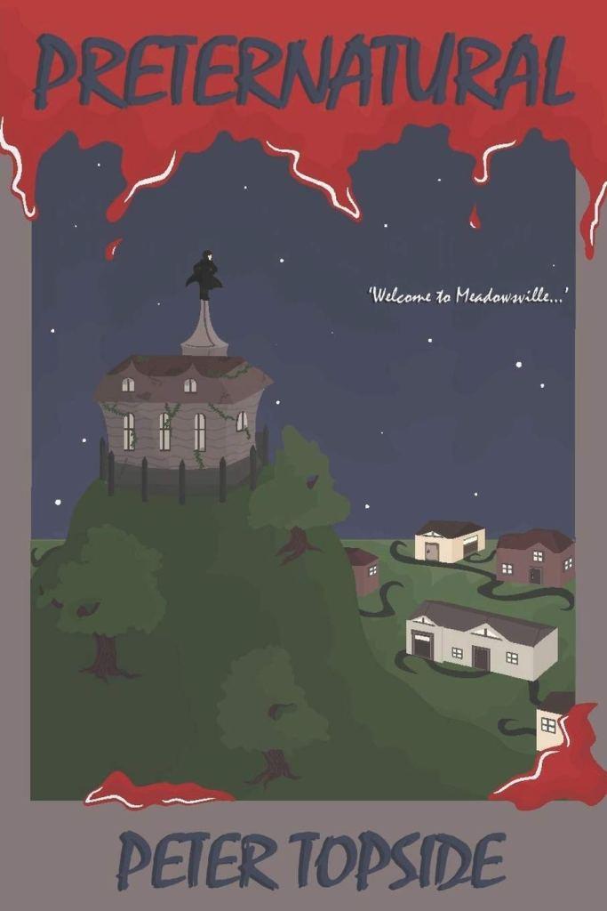 Preternatural book cover Peter Topside