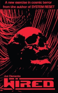 Wired by Joe Clements cover with skull
